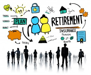 Business People Employee Retirement Vision Aspiration Career Con