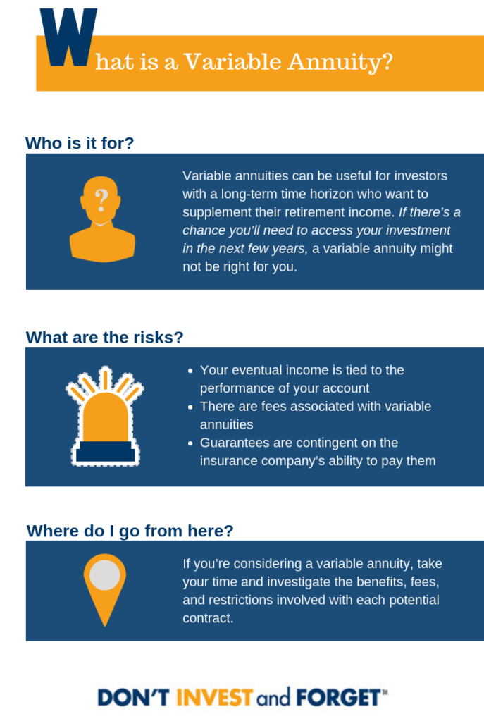 What is a Variable Annuity?   Investing in Variable Annuities