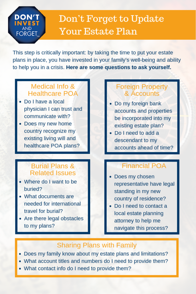 Retiring Abroad Update Estate Plan Infographic UPDATED