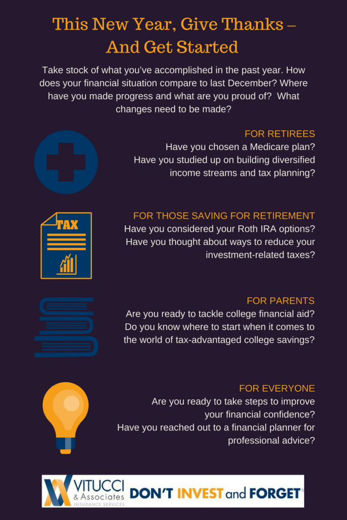 This New Year, Give Thanks ΓÇô And Get Started Infographic