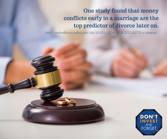 The Secret to a Happy Marriage – Financially Speaking - Info Image