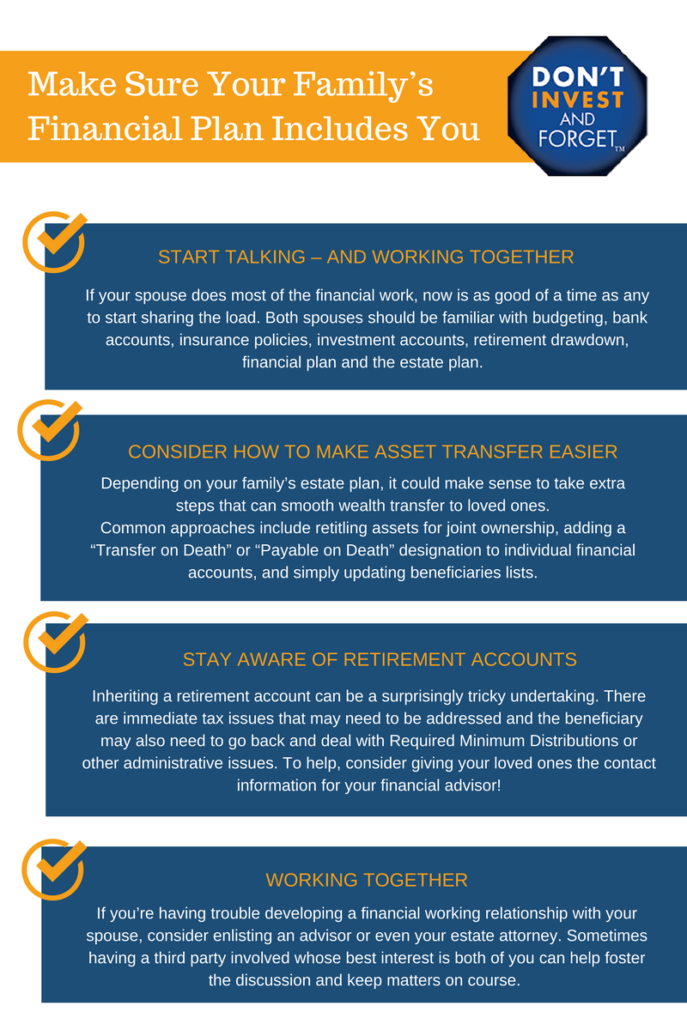 2 - Make Sure Financial Plan Includes You Infographic