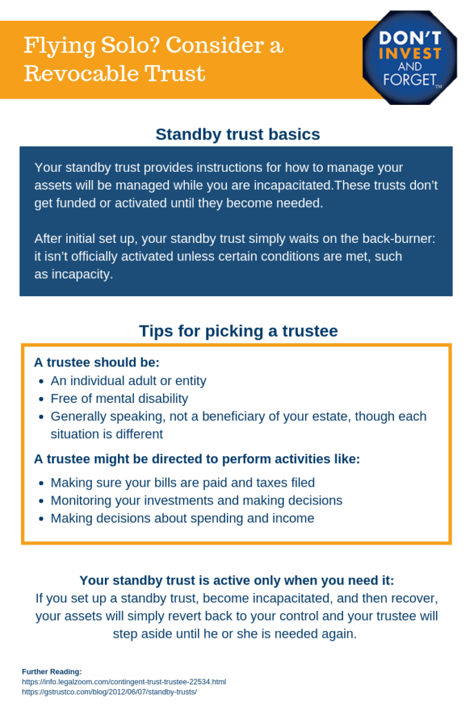 2 Consider a Standby Trust Infographic