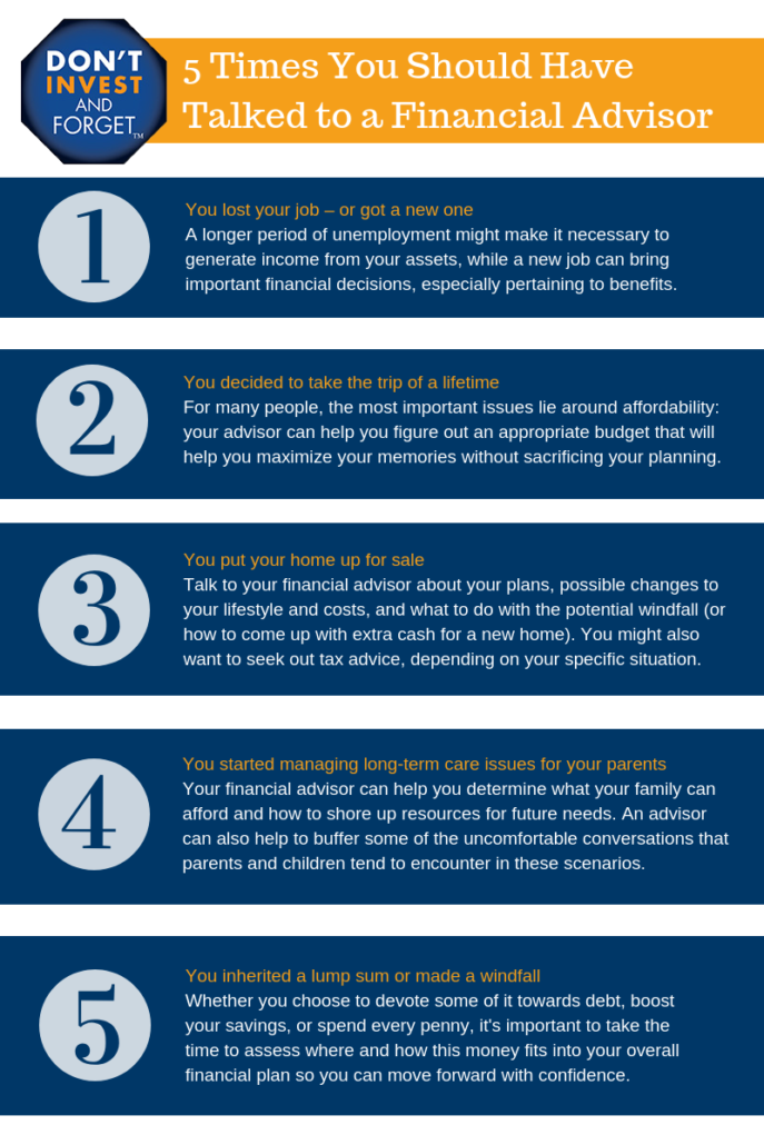 5 Times You Should Have Infographic